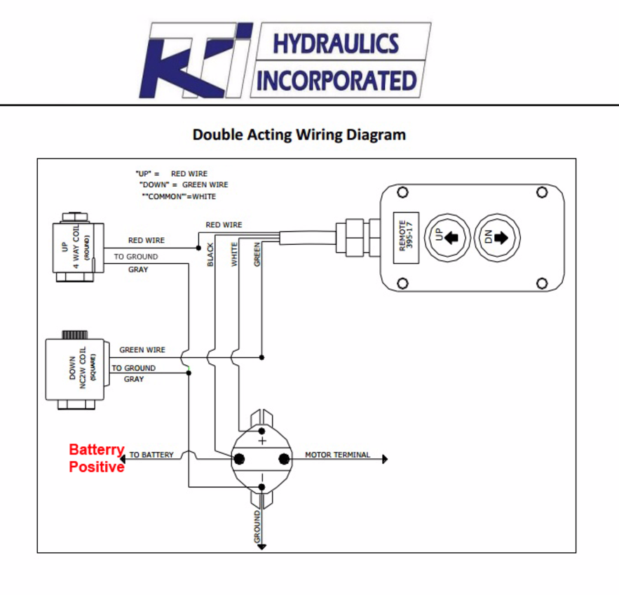dump trailer acting wiring diagram