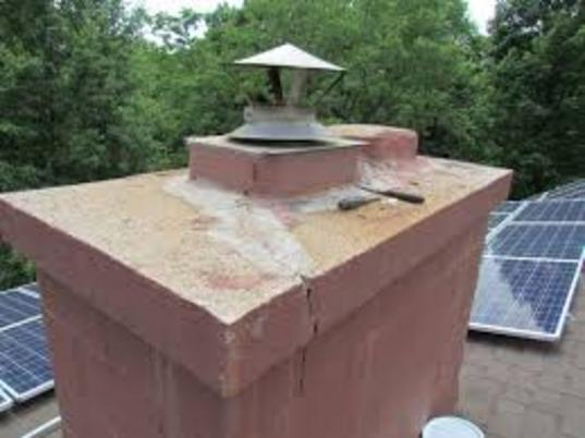 Excellent Chimney Crown Repair Service and Cost in Lancaster County Nebraska | Lincoln Handyman Services