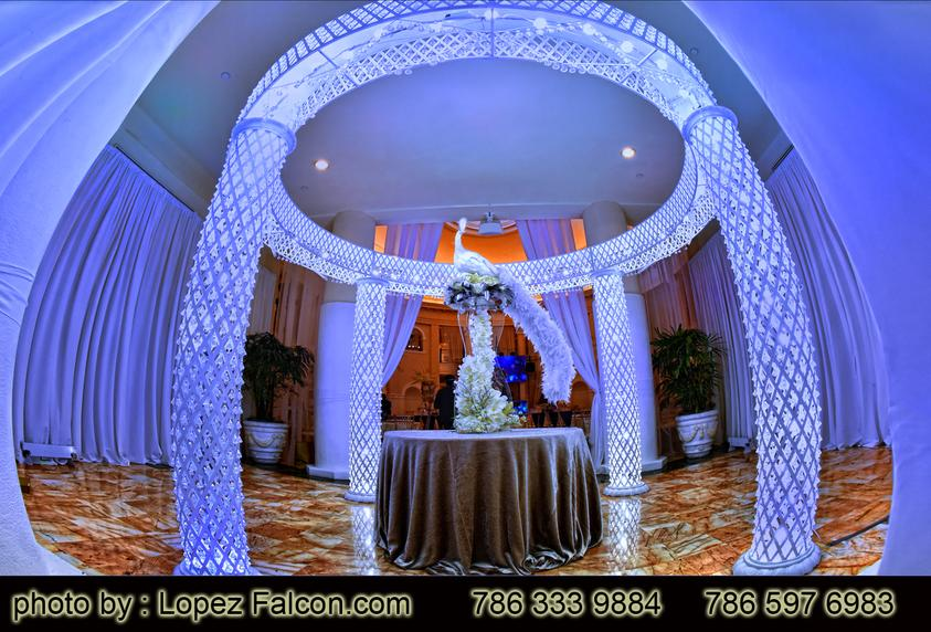 Westin Colonnade hotel Quinces Party Coral Gables Stage Decoration quince photography