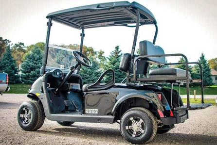 2018 RXV 4 Passenger, Hot Rod Golf Carts