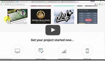 Freelancing- In this video you'll learn how to work independently to obtain preset goals. A free lancer is an individual that earns money on a per task basis.