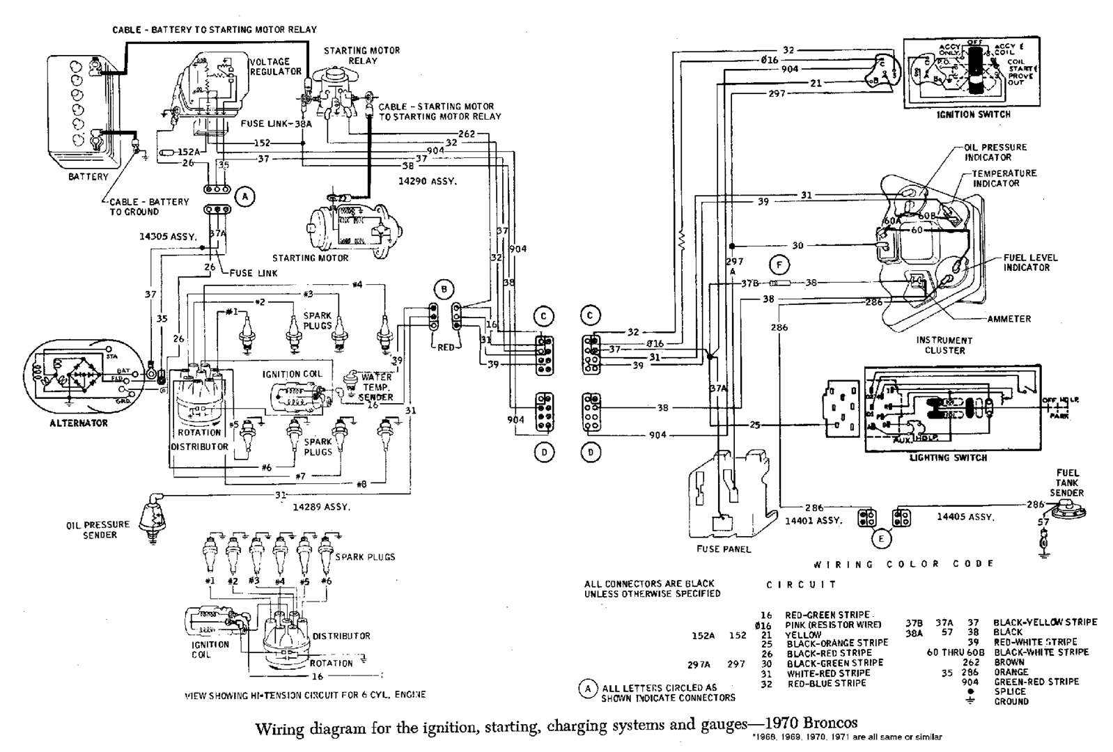 Tech Corner 1975 Ford Vacuum Diagram I Found A Chart Specifically For Broncos In California