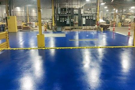 Industrial Epoxy Flooring Installer In Ohio