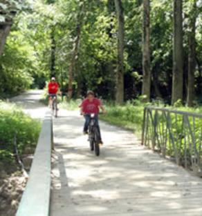 Bike Path & Trail, Town of St. Joe, Indiana