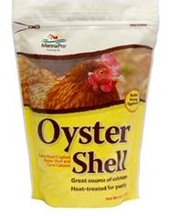 Manna Pro Oyster Shell to help harden egg shell