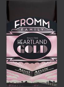 FROMM Heartland Adult Dry Dog Food available in 26. 12 and 4 pound bags