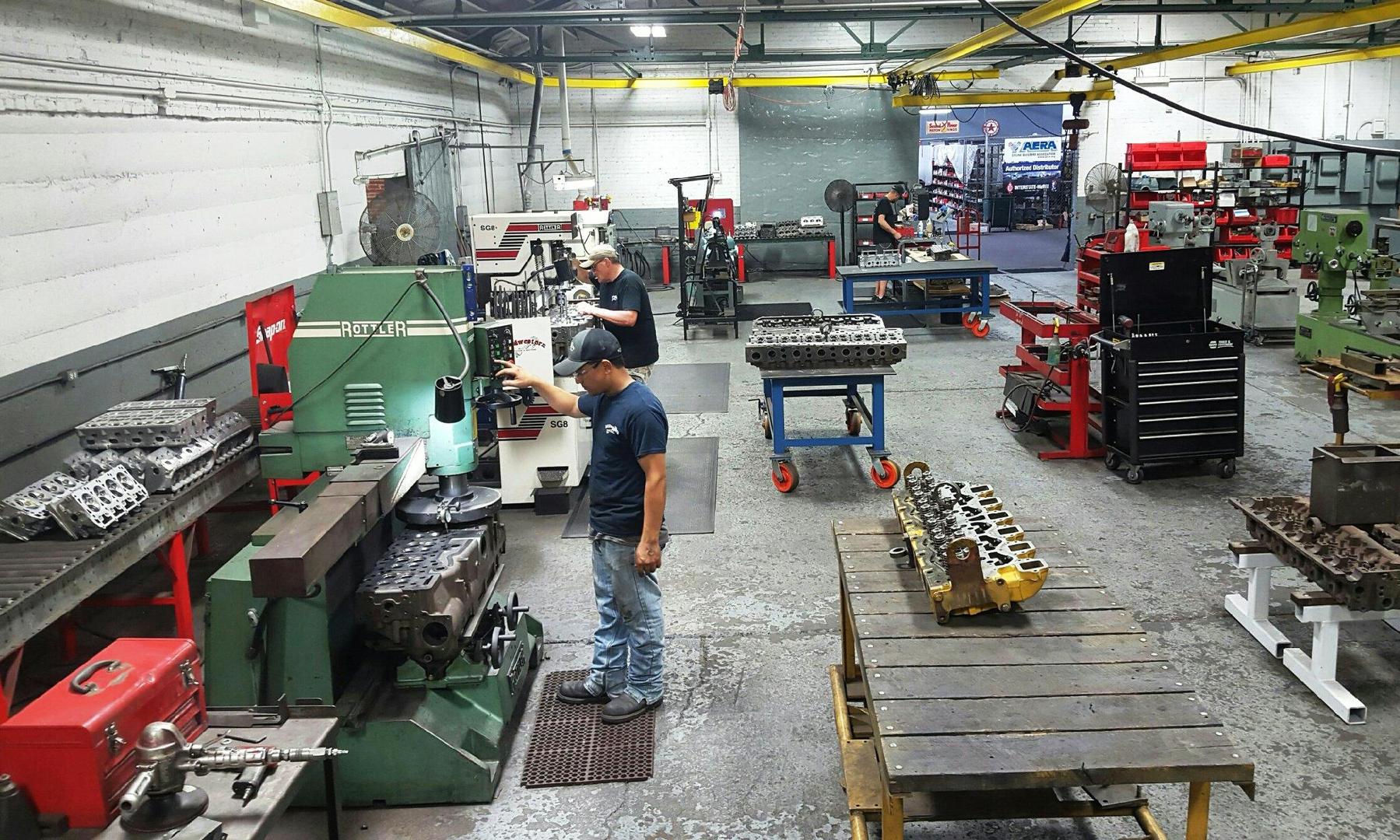 Midwestern Engine & Machine - Machine Shops, Engine install