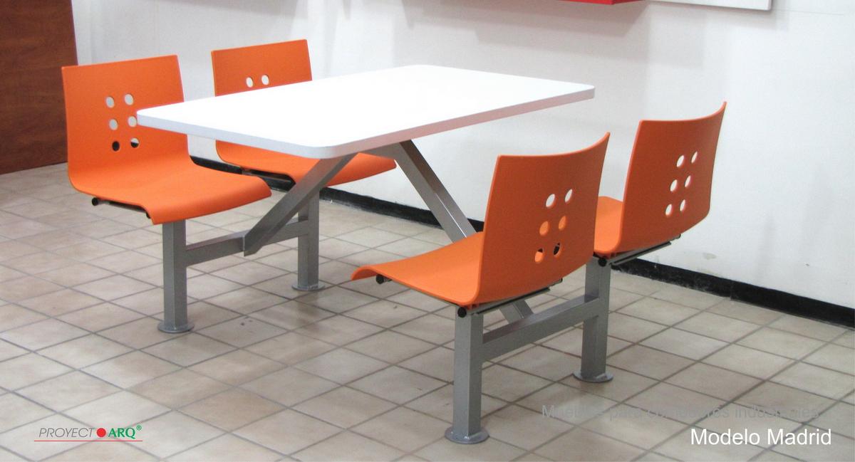 Mesas y sillas para comedores industriales casa dise o for Sillas para comedor industrial