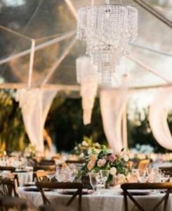 Clear span tent for your Crosley wedding