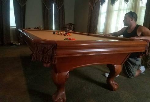 Brunswick Tables - Pool table movers new orleans