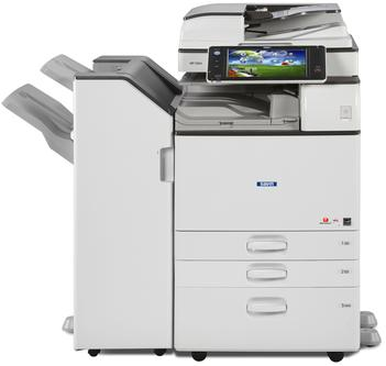 Cedar Rapids Photo Copy, Inc., CRPC, Savin MP 3054, Savin MP3054, Office Printing, Office MFP, Office Multifunction Printer, Copier, Print, Copy, Scan, Fax, 30 pages per minute black and white, 4,700 page paper capacity, professional, maximizing productivity, finishing, stapling, hole punching, booklet folding, stapler, hole puncher, folder, print from mobile device