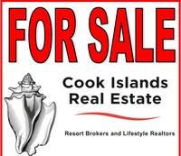 sign for Cook Islands Real Estate