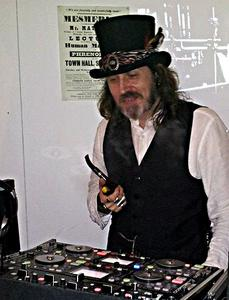 Steampunk DJ at St Albans