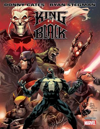 Geekpin Entertainment, Venom, Marvel, Donny Cates, Ryan Stegman, Geekpin Ent, King In Black, Knull, Spider-Man