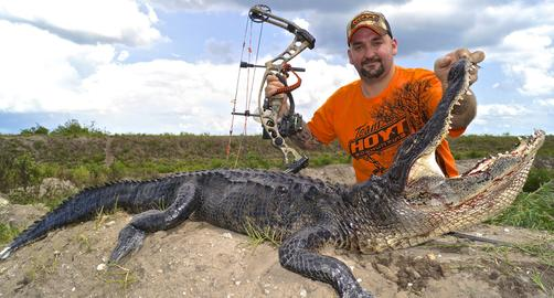 Florida Bowfishing Charters Gator Hunts