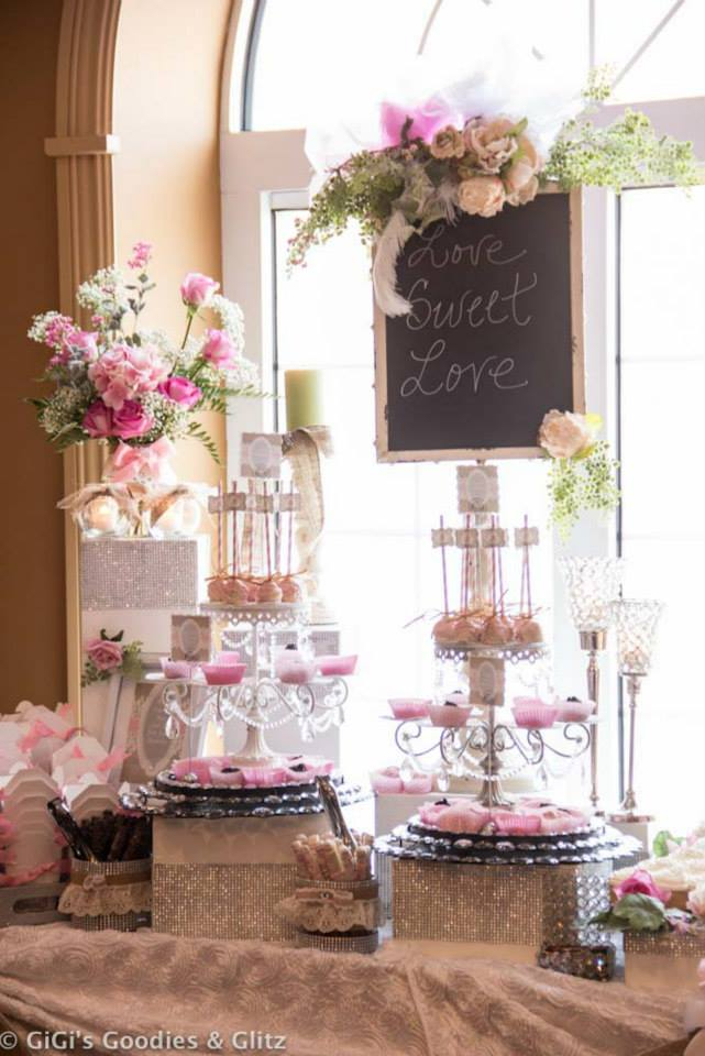 hollywood glam bridal shower