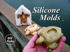 Easy DIY Silicone Mold Making. www.DIYeasycrafts.com