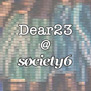 Shop the Dear23 store at Society6