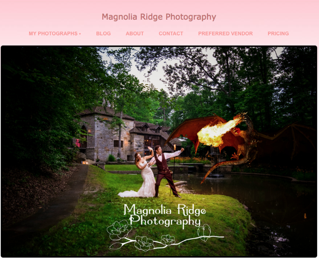 Magnolia Ridge Photography ~ Preferred Vendor Castle McCulloch