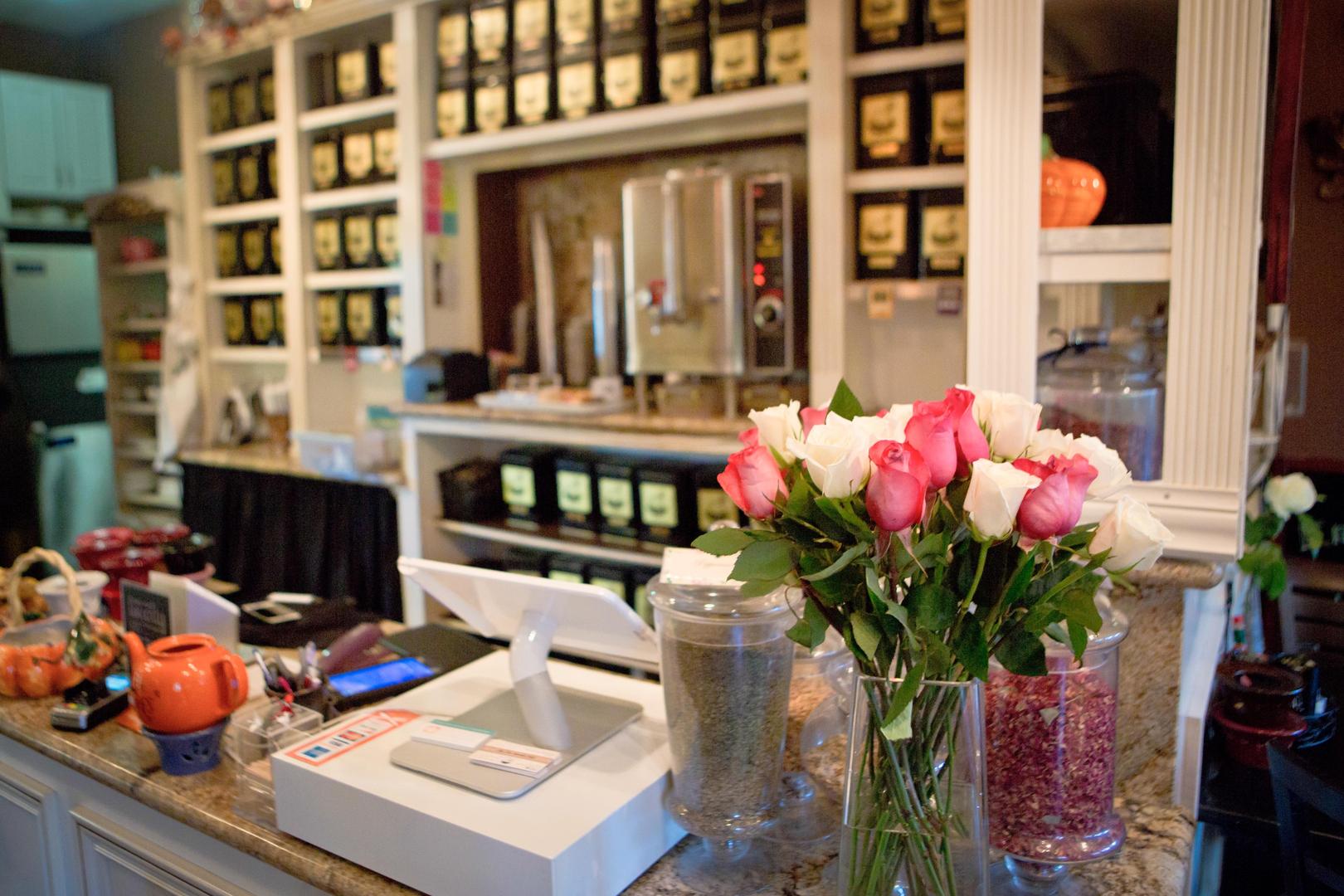 Tea Elle C Garden Cafe\' in Santa Clarita, Ca