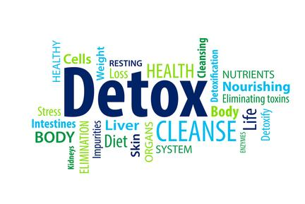 Die Entgiftungstherapie-full body detox-