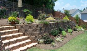 Retaining Walls installed by Dogwood Landscape