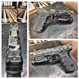 Guardian Arsenal Custom Camo Pattern Cerakote Glock 17