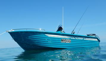 Boat Hire Exmouth - 4.8m Polycraft