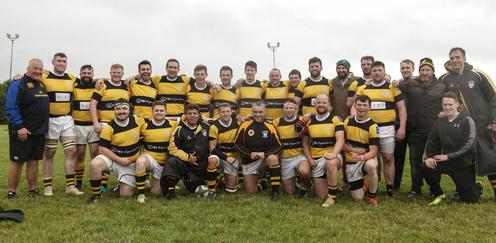 Newbridge Rugby Hosie Cup Winners in Athy