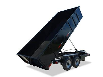 7 Wide Low Profile Dump Trailer