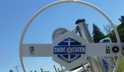 Photo of a ShoreStation hoist