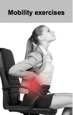 Mobility exercises for office workers & drivers