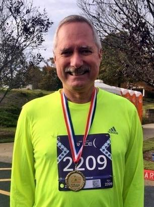 Craig Roll Candy Chase 5K 2015 1st Place Medal