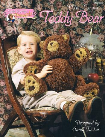 Plastic Canvas Teddy Bear pattern