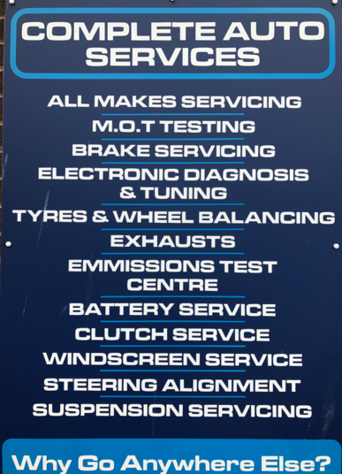 all available services