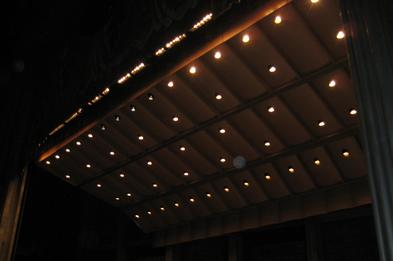 Stage band shell lighting upgrade to Par64 LED replacement conversion lamps by OnSiteLED