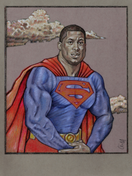 BLACK SUPERMAN by Cliff Carson