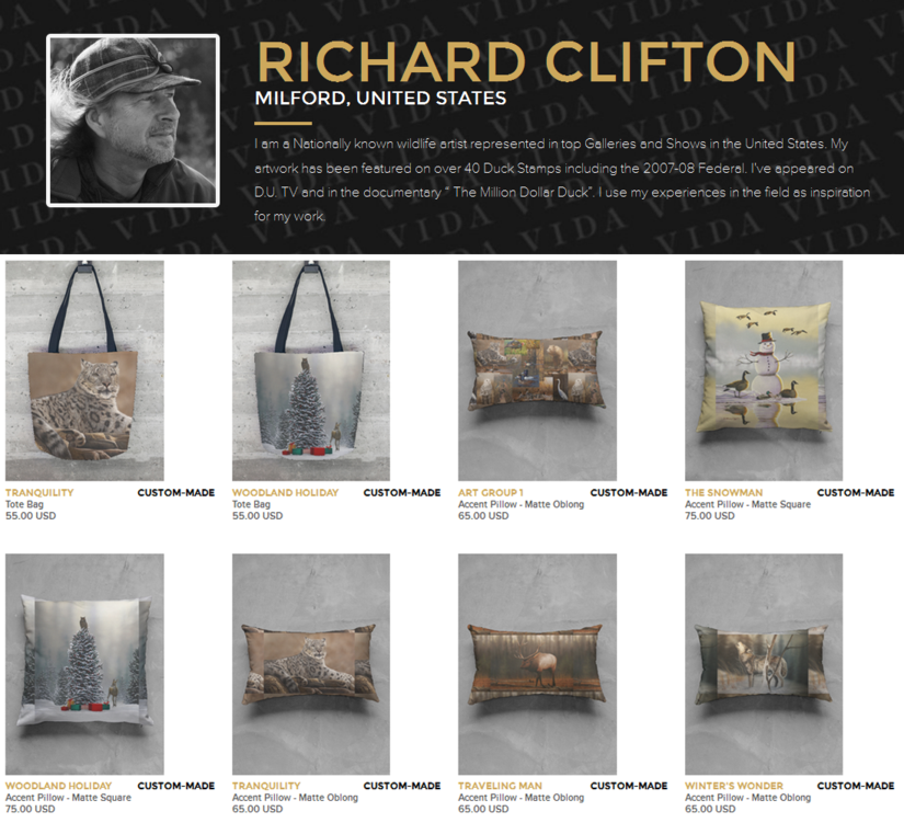 Richard Clifton's Vida Collection