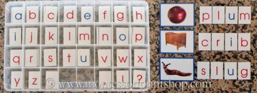 Make A Montessori Moveable Alphabet