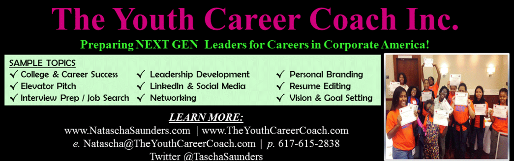 Motivational Youth Speaker and Career Coach, Natascha Saunders