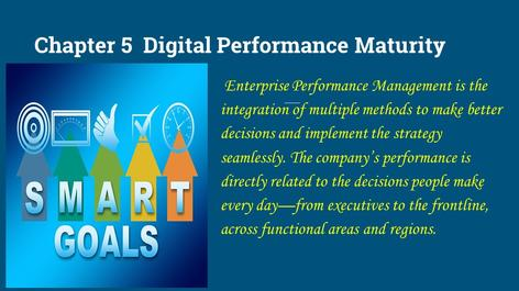 performance maturity, performance management