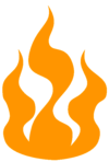 Hot Deal, Flame icon