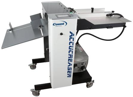 Count AccuCreaser Air Vacuum-Feed Creasing/Perforating Machine