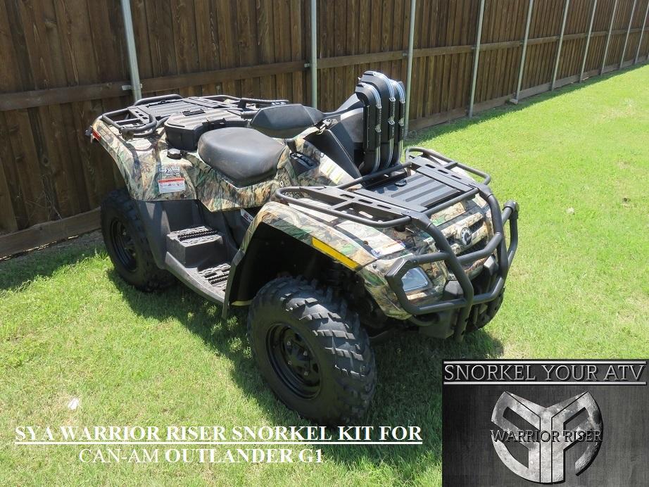 Can Am ATV Snorkel Kit Page , Outlander , XMR , Renegade