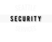 Logo - Private security guard Seattle, WA