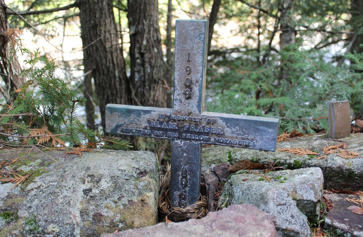 Blair Fraser Memorial, Petewawa River (Rollaway Raps)