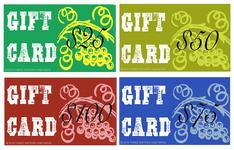 GIFT CARDS HERE