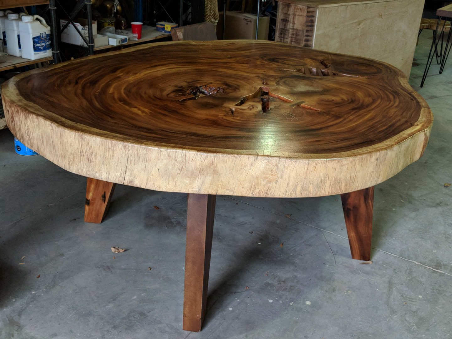 Round Slab Dining Tables - Decor Direct Wholesale Warehouse