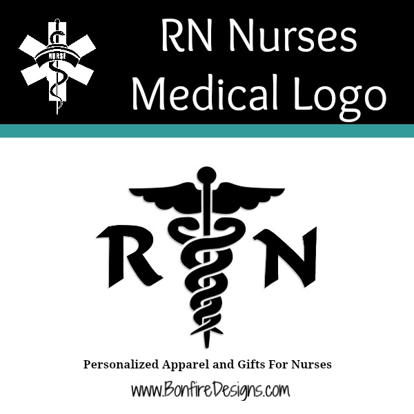 RN Nurses Medical Logo