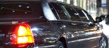A Lincoln town car as part of our airport transportation in San Francisco, CA